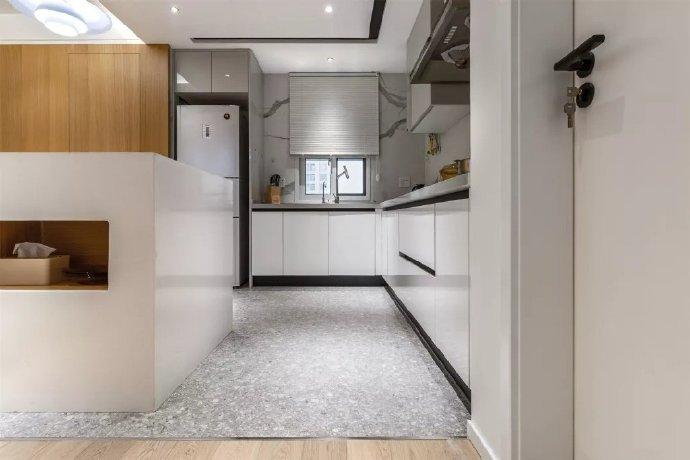【98平现代风格】98㎡现代简约两居室,浪漫舒适的空间