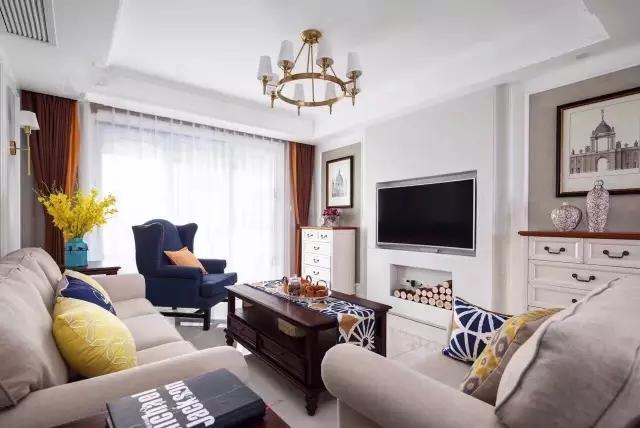 【83㎡法式风格装修案例】六大技巧,客厅装修不再有遗憾