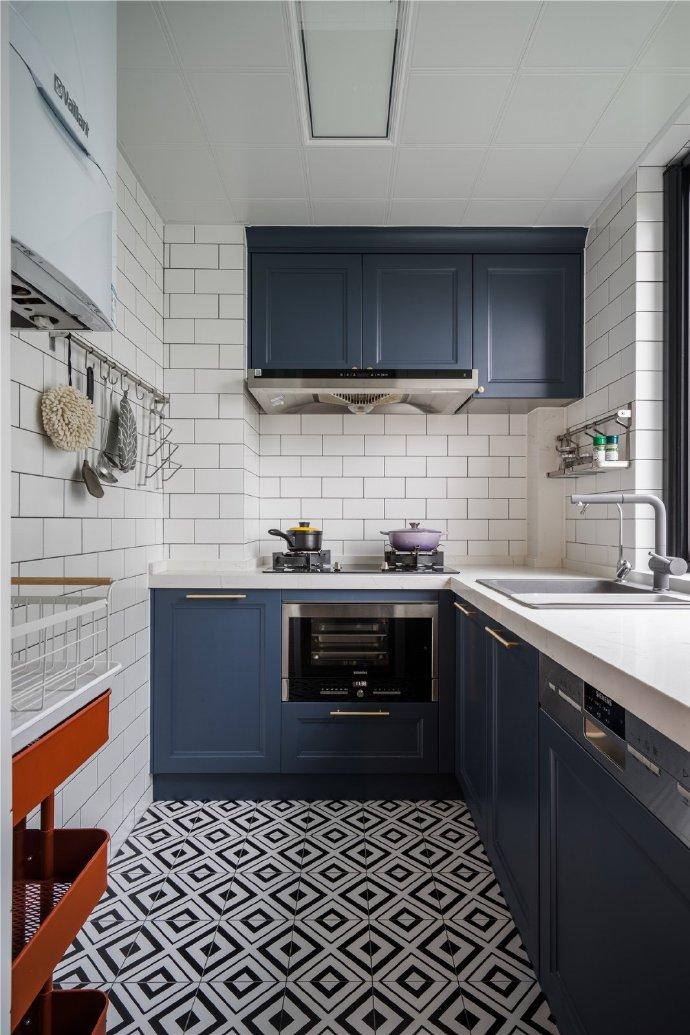 【146㎡现代轻奢风装修案例】厨房装修应注意的细节