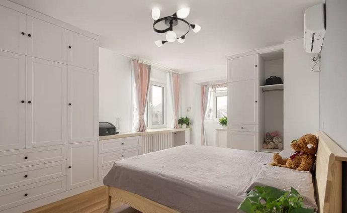 【小户型装修】用简单的的方式完善整个空间,实用而温馨!