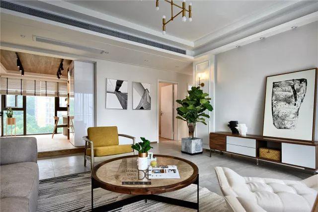 【126平三室两厅】装了个漂亮的小家,126㎡北欧风三居室!