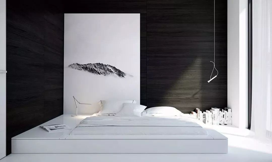 【室内地台卧室设计】30个前卫的地台卧室设计,榻榻米已经落伍啦!