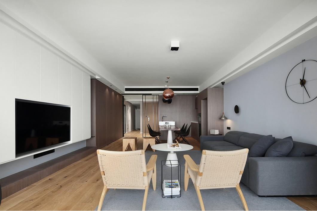 【180平房屋改造】1个人住180㎡,极简一个人的高配!