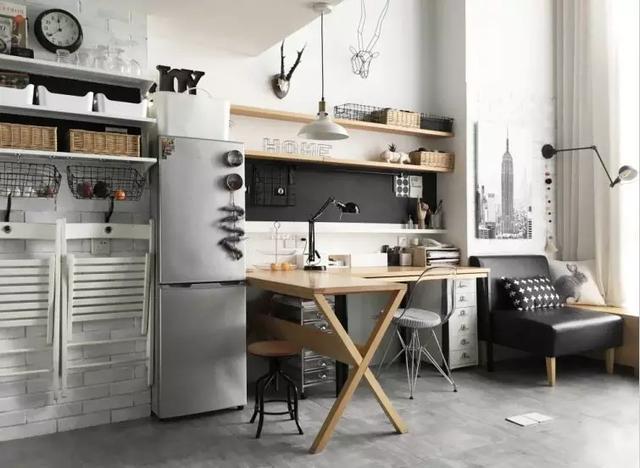 【101平米装修】38㎡小窝这样装,客厅,卧室,厨卫,衣帽间和书房都齐了